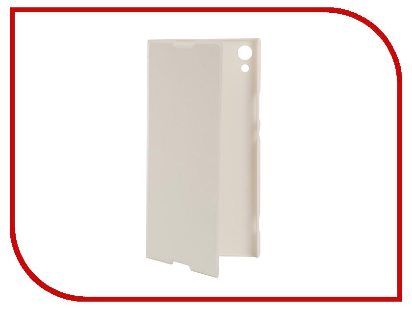 Аксессуар Чехол Sony Xperia XA1 Ultra BROSCO PU White XA1U-BOOK-WHITE аксессуар чехол sony xperia xa1 brosco white xa1 4side st white