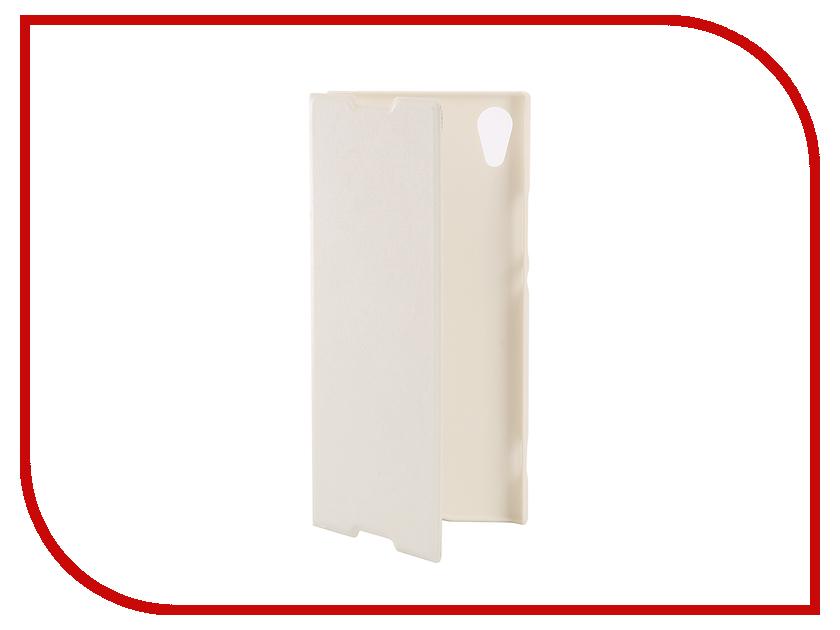 Аксессуар Чехол Sony Xperia XPERIA XA1 BROSCO PU White XA1-BOOK-WHITE косметические маски cattier cattier маска очищающая для проблемной кожи туба 75 мл