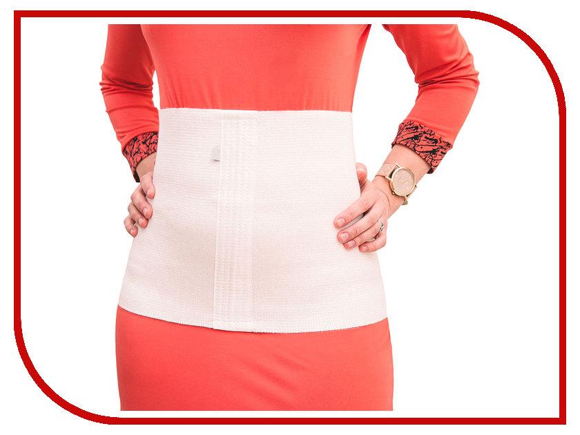 Ортопедическое изделие Smart Textile Пояс эластичный акриловый M White ST649 st649