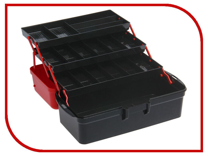 Ящик для инструментов Альтернатива Black-Red 1487462