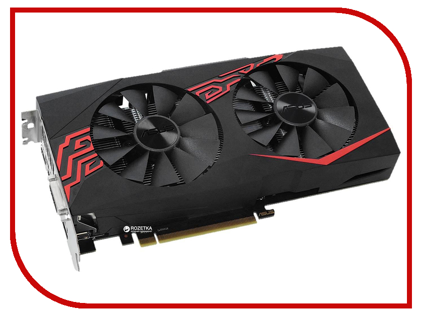 Видеокарта ASUS GeForce GTX 1060 1569Mhz PCI-E 3.0 6144Mb 8008Mhz 192 bit DVI 2xHDMI HDCP Expedition OC EX-GTX1060-O6G видеокарта asus geforce gtx 1060 1506mhz pci e 3 0 3072mb 8008mhz 192 bit 2xdvi hdmi hdcp ph gtx1060 3g