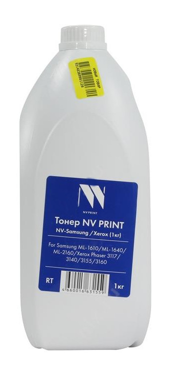 Тонер NV Print NV-Samsung/Xerox 1кг для ML-1610/ML-1640/ML-2160/Xerox Phaser 3117/3140/3155/3160