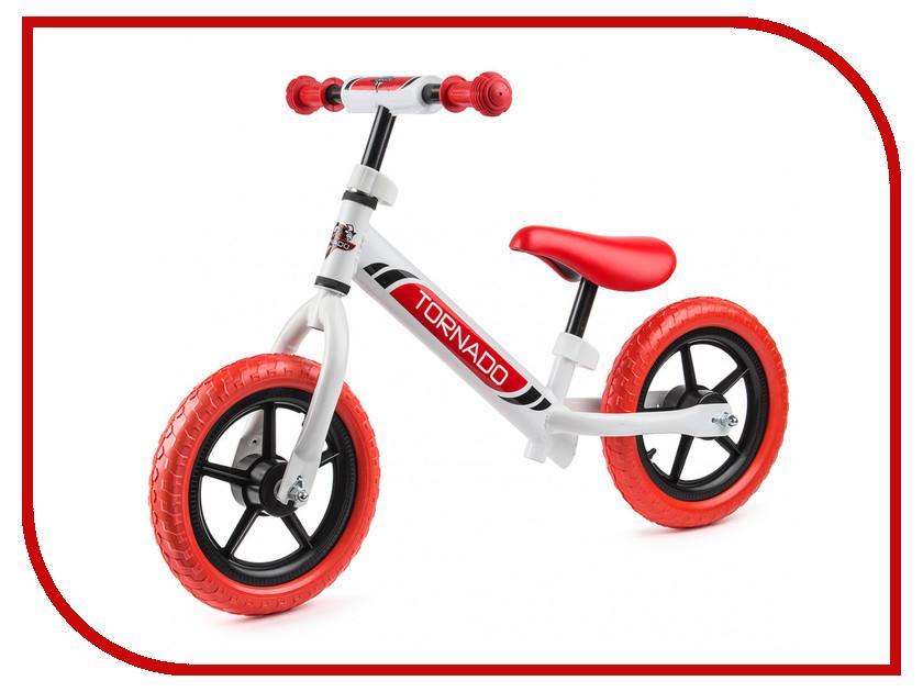 Беговел Small Rider Tornado White-Red