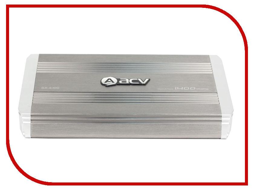 Усилитель ACV GX-4.100 NEW видеорегистратор acv gx 3000 комбо
