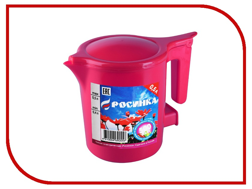 Чайник Росинка ЭЧ 0.5/0.5-220 Ruby