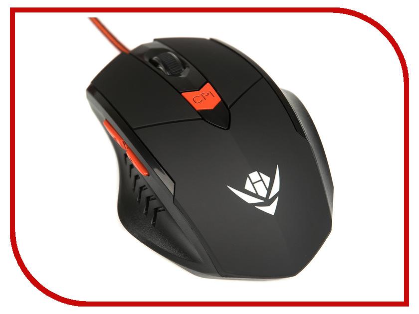 Мышь Nakatomi MOG-11U Black USB мышь nakatomi mon 06u black usb