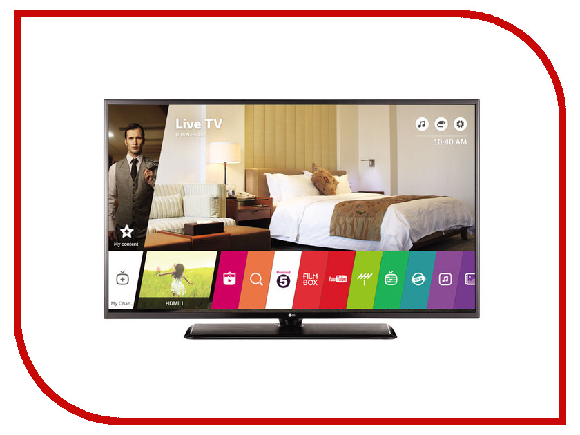 lg lb644029t Телевизор LG 43UW761H Black