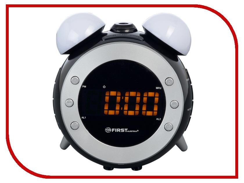 Часы First FA-2421-4 Black часы радио first fa 2421 5 black