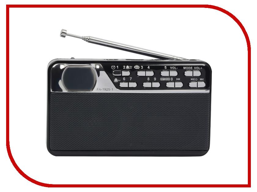 Радиоприемник First FA-1925-1 Black