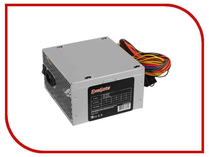 Блок питания ExeGate ATX-UN650 650W 259601 блок питания linkworld atx 350w case version lw2 350w