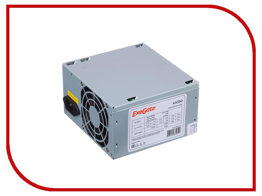 Блок питания ExeGate ATX-AA350 350W 253681 блок питания exegate atx 450npx 450w 224733