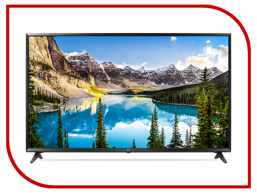Телевизор LG 49UJ630V Black пылесос lg vc53202nhtr