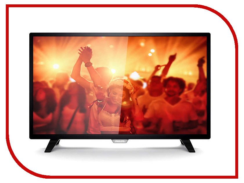 Телевизор Philips 32PHT4001 Black