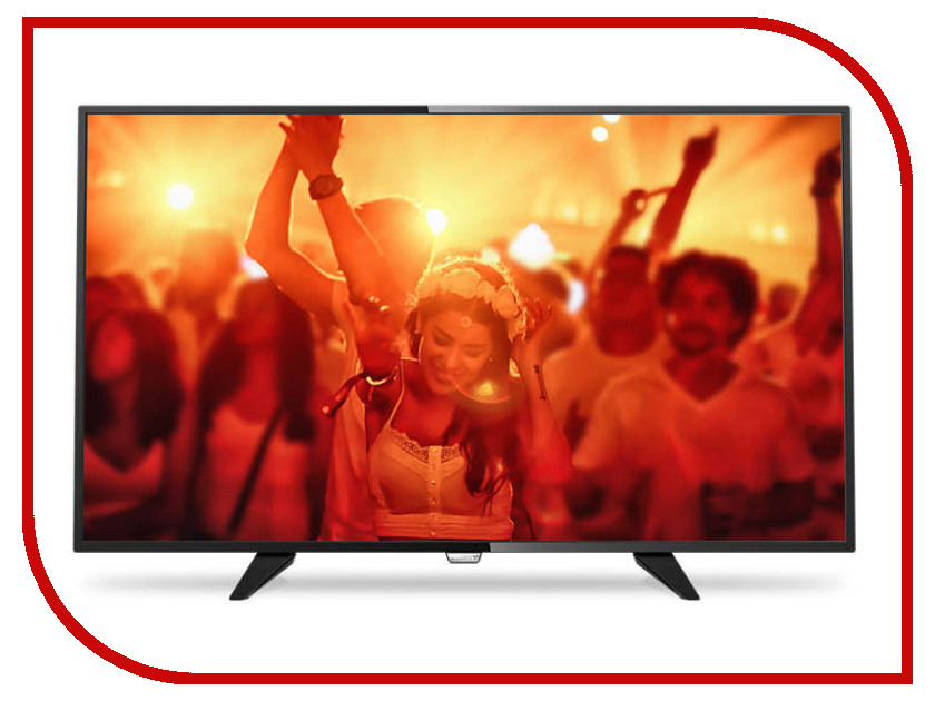 Телевизор Philips 32PHT4201 led телевизор philips 24pht4031 60