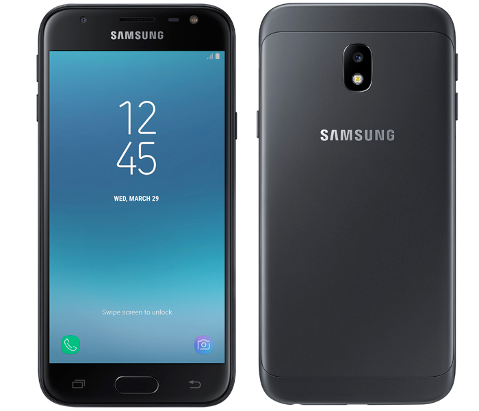 Сотовый телефон Samsung SM-J330F/DS Galaxy J3 2017 Black сотовый телефон samsung sm a310f ds galaxy a3 2016 white