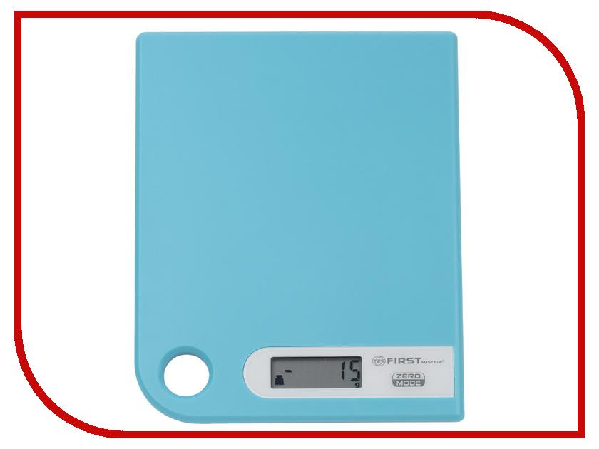 Весы First FA-6401-1 Blue