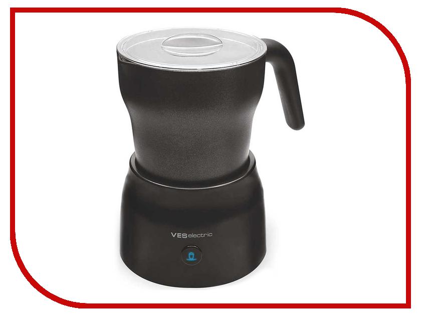 Вспениватель молока VES Electric V-FS25-B пароочиститель ves electric v st03 1550вт фиолетовый чёрный