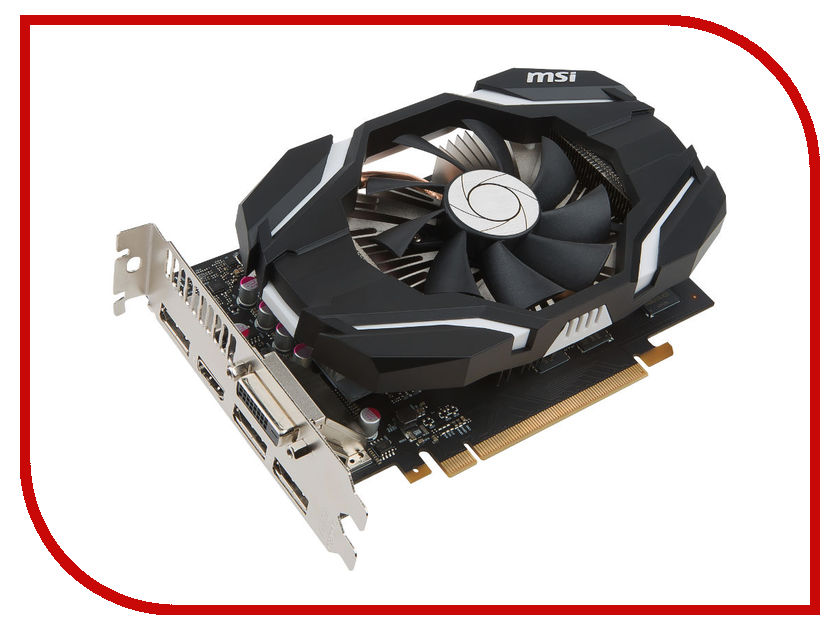 Видеокарта MSI GeForce GTX 1060 1544Mhz PCI-E 3.0 3072Mb 8008Mhz 192 bit DVI HDMI HDCP OC