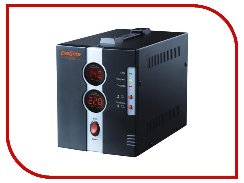 Стабилизатор ExeGate Power DCR-1000D 259016