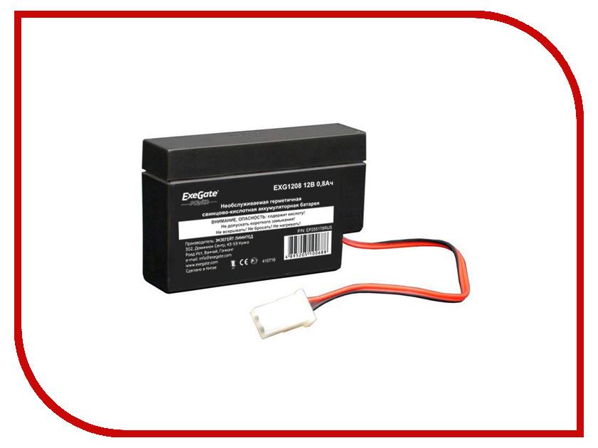 Аккумулятор для ИБП ExeGate Power EXG1208 255178<br>
