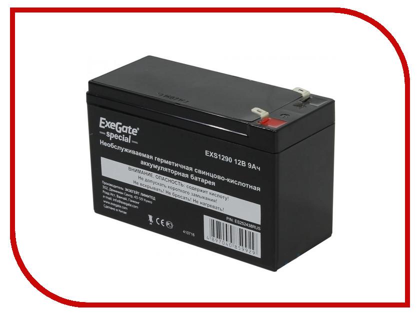 Аккумулятор для ИБП Exegate Special EXS1290 252438 аккумулятор для ибп apc 106 apcrbc106