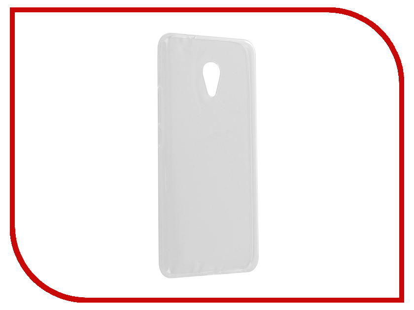 Аксессуар Чехол для Meizu M5S Zibelino Ultra Thin Case White ZUTC-MZU-M5S-WHT 100% tested for meizu m5s meilan 5s lcd mini display touch screen digitizer assembly replacement free shipping with tools as gift