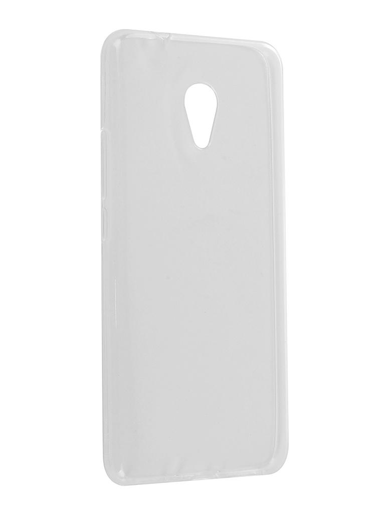 Аксессуар Чехол Zibelino для Meizu M5S Ultra Thin Case White ZUTC-MZU-M5S-WHT