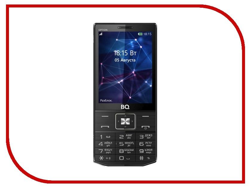 Сотовый телефон BQ Mobile BQ-3201 Option Black сотовый телефон bq 2426 energy l black