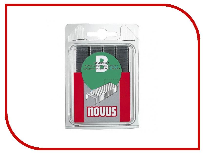 Скобы Novus NT/6 1600шт 042-0362 скобы novus 11 6 5000шт 042 0527