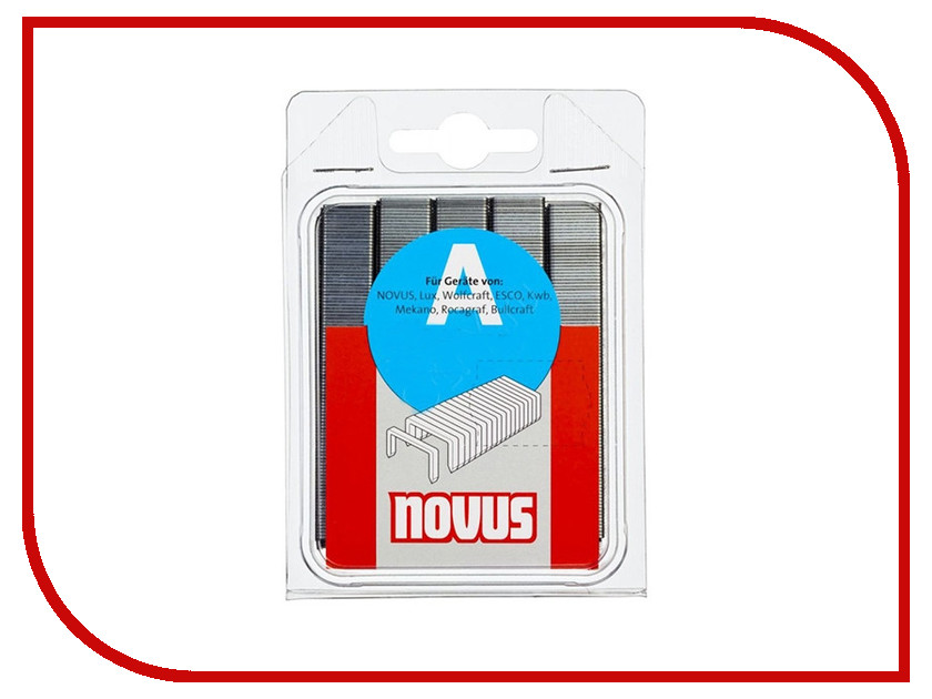 Скобы Novus 53/8 2000шт 042-0413 novus 4 26