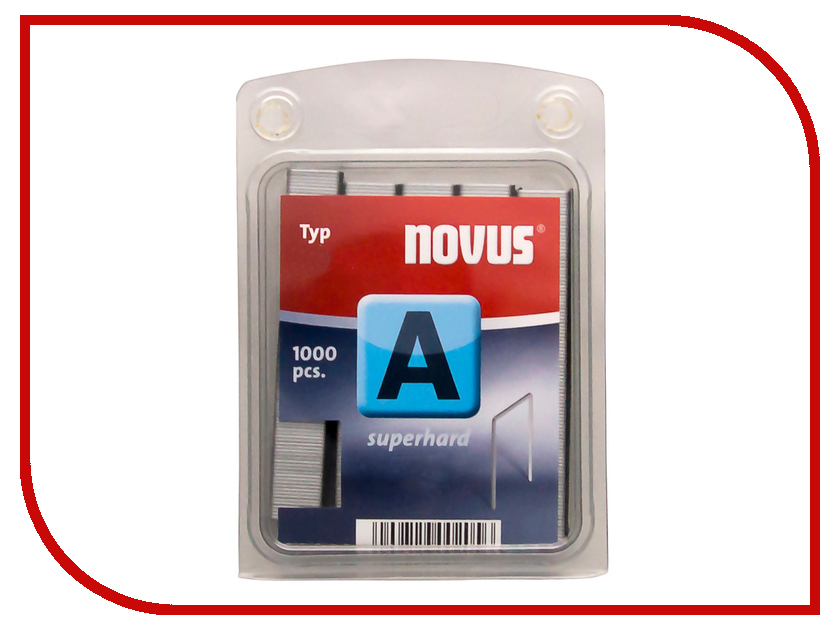 Скобы Novus 53/4 2000шт 042-0354 скобы novus 4 28 2000шт 042 0724