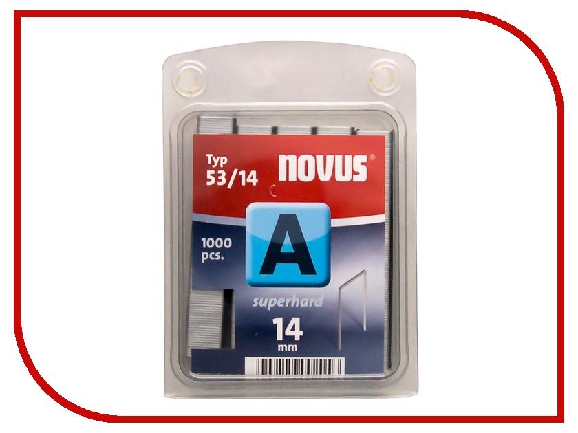 Скобы Novus 53/14S 1000шт 042-0359 скобы novus 23 24 super 1000шт 042 0644