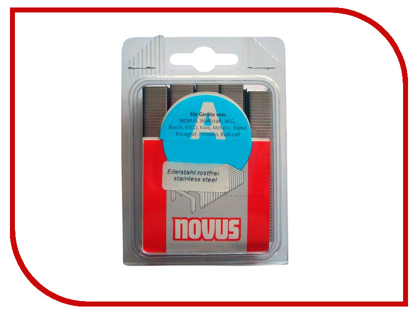Скобы Novus 53/12S 1000шт 042-0358 скобы novus nt 10s 5000шт 042 0524