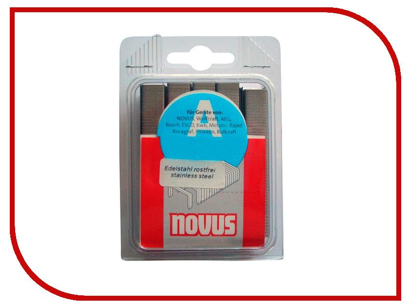 Скобы Novus 53/12S 1000шт 042-0358 - фото 4