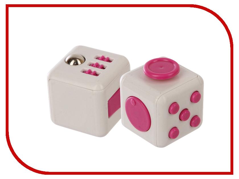 Игрушка антистресс Fidget Cube White-Pink