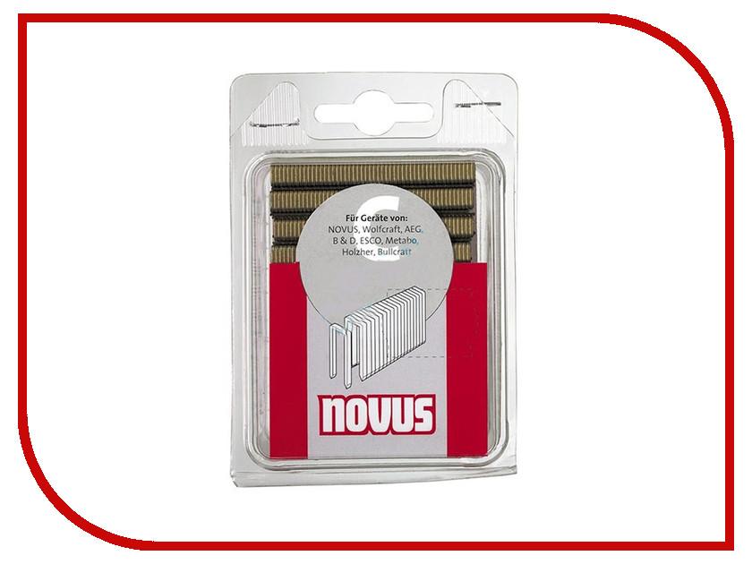 Скобы Novus 4/28 2000шт 042-0724