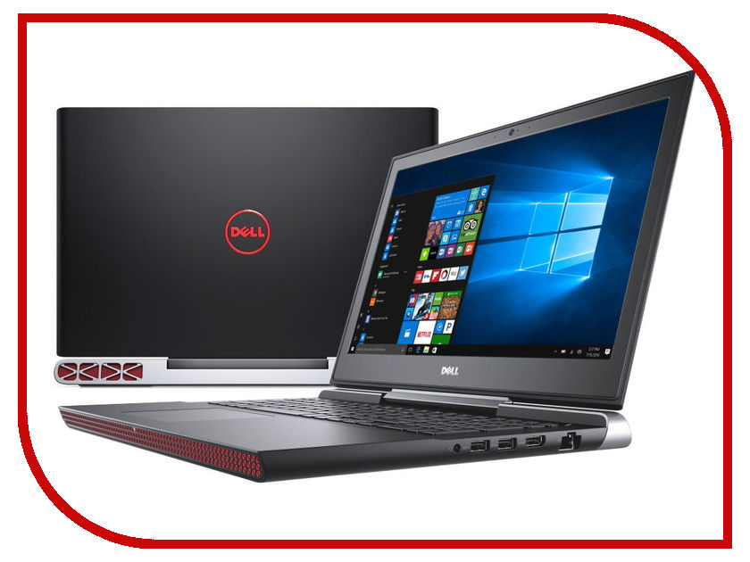 Ноутбук Dell Inspiron 7567 7567-9323 (Intel Core i7-7700HQ 2.8 GHz/16384Mb/1000Gb + 128Gb SSD/nVidia GeForce GTX 1050Ti 4096Mb/Wi-Fi/Cam/15.6/1920x1080/Windows 10 64-bit) dell inspiron 3558