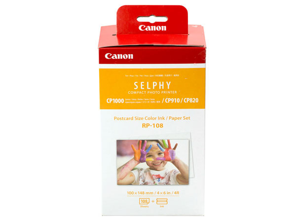 Фотобумага Canon RP-108 High-Capacity Color Ink/Paper Set Multi 8568B001