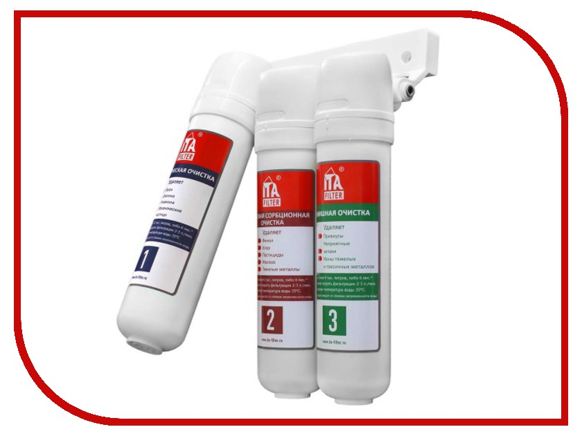 Фильтр для воды ITA Filter Нева стандарт F10601 фильтр магистральный для воды ita filter ita 10 1 2 f20110 1 2