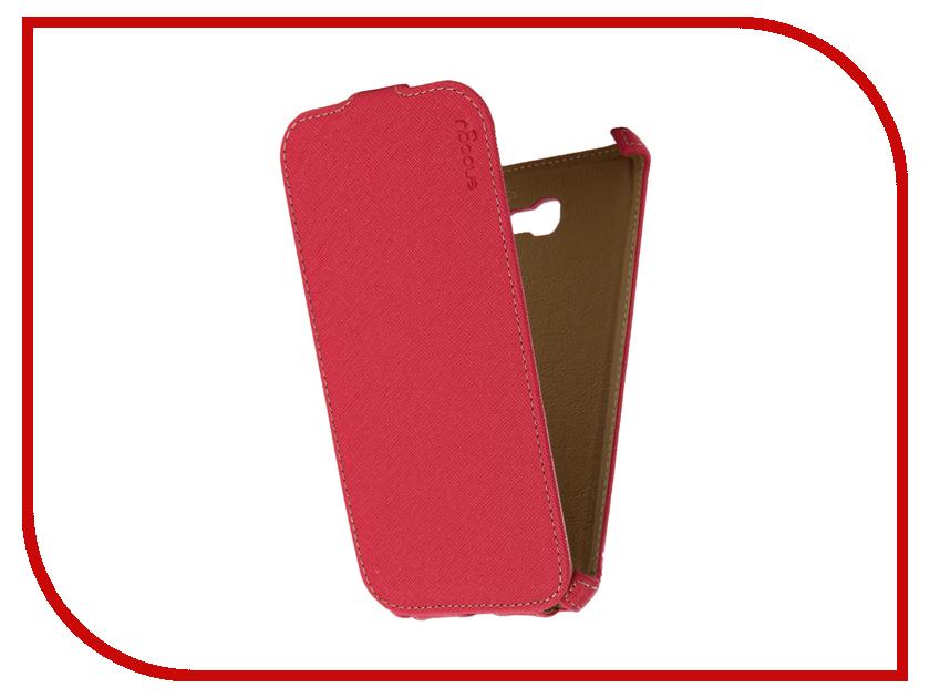 Аксессуар Чехол Samsung Galaxy A7 Snoogy иск. кожа Pink SN-SM-a7/2017/-PINK-LTH