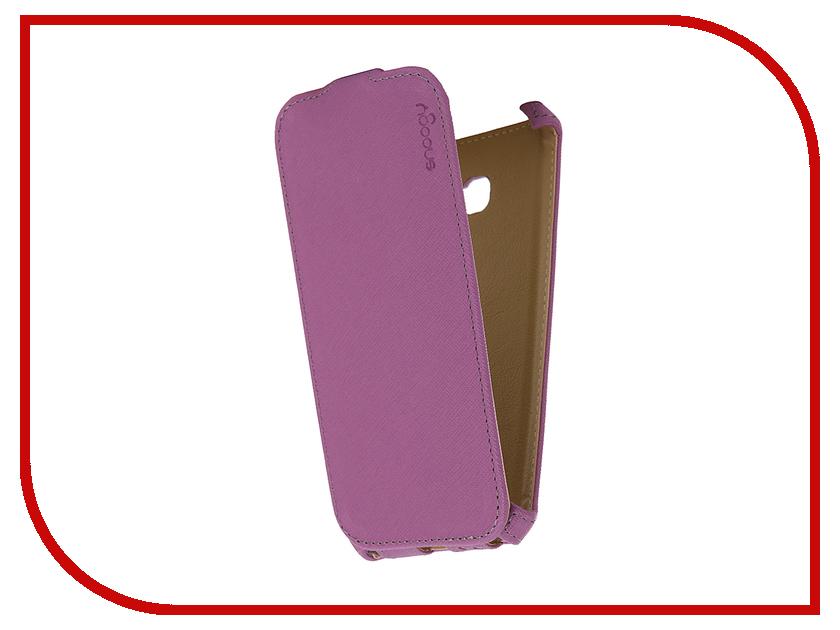 Аксессуар Чехол Samsung Galaxy A5 Snoogy иск. кожа Purple SN-SM-a5/2017/-VIOL-LTH аксессуар чехол st case 4 6 5 иск кожа brown st c –smfl4 6 5 brn lth