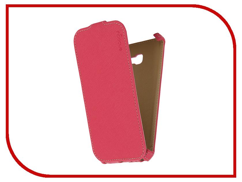Аксессуар Чехол Samsung Galaxy A5 Snoogy иск. кожа Pink SN-SM-a5/2017/-PINK-LTH
