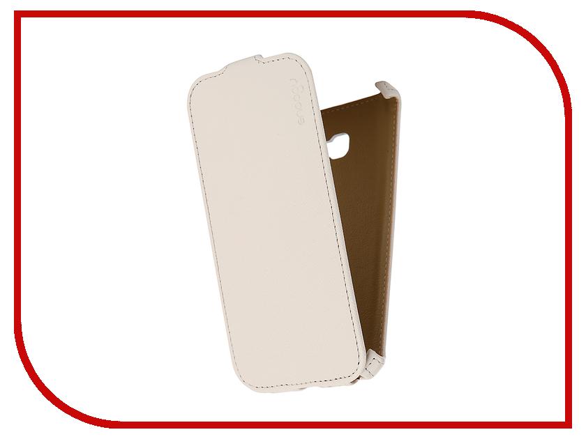 Аксессуар Чехол Samsung Galaxy A5 Snoogy иск. кожа White SN-SM-a5/2017/-WHT-LTH