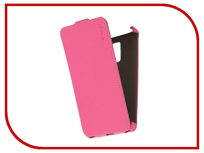 Аксессуар Чехол Huawei Honor 7 Snoogy иск. кожа Pink SN-honor7-PINK-LTH