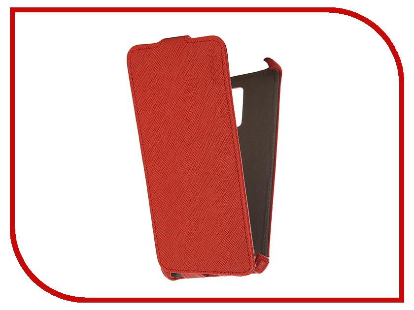 Аксессуар Чехол Huawei Honor 7 Snoogy иск. кожа Red SN-honor7-RED-LTH