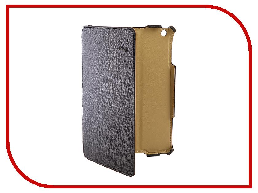 Фото Аксессуар Чехол Snoogy для APPLE iPad mini 2 иск. кожа Black SN-iPad-mini2-BLK-LTH
