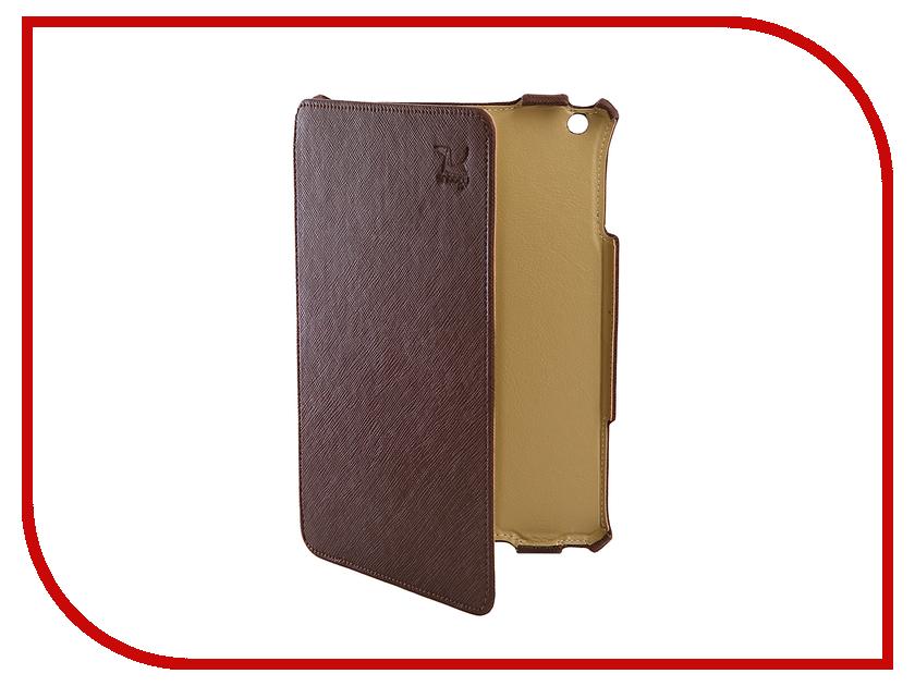 Аксессуар Чехол Snoogy для APPLE iPad mini 2 иск. кожа Brown SN-iPad-mini2-BRN-LTH sn mzb u10 brn lth snoogy