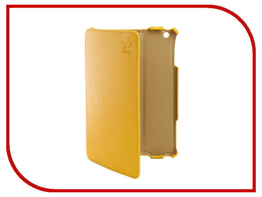 Аксессуар Чехол Snoogy для с иск. кожа Yellow SN-iPad-mini2-YEL-LTH sn mzb u10 brn lth snoogy