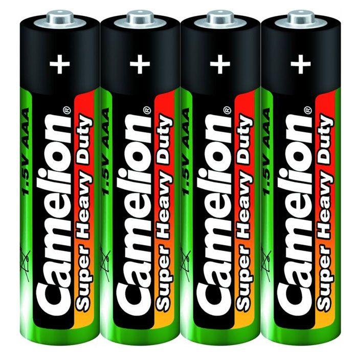Батарейка AAA - Camelion Green R03 R03P-SP4G (4 штуки)