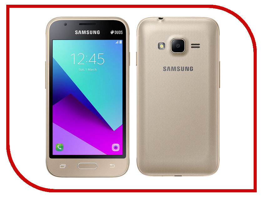Сотовый телефон Samsung SM-J106F/DS Galaxy J1 Mini Prime Gold beverley box beverley box be064ameym64